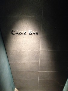 CADIZ BAR