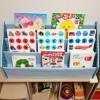 子どもの絵本用の本棚を牛乳パックとダンボールで手作りしてみた